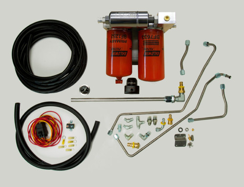 Fuel System (Includes Regulated Return), 94-97 7.3L Diesel (IDPOBSFUEL)