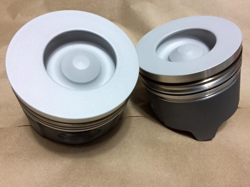 Set of 7.3L Pistons With Rings, Irate Diesel