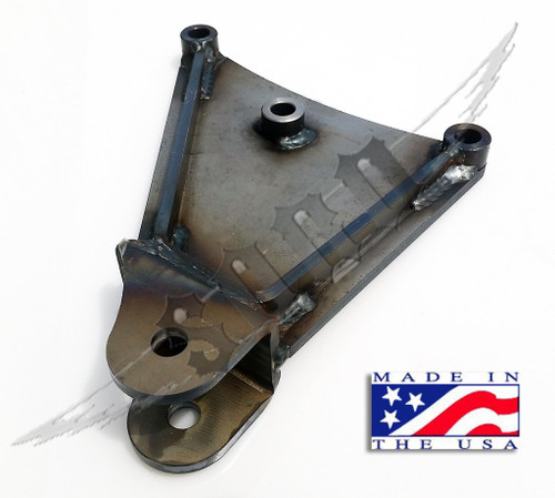 SKY Manufacturing 86-97 Ford 4x4 F-350 Fabricated Pan Hard Drop Bracket - Raw