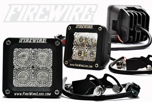 Firewire 3 Inch Square Cube Series, FW-20W-BS