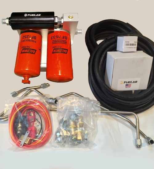 IDP Competition Fuel System (Includes Regulated Return)