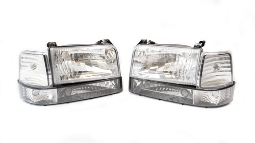 Complete Performance CP-CLH Six Piece Clear Headlight Kit (CP-CLH)