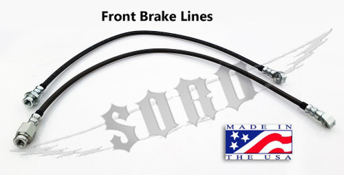 SKY Manufacturing 92-97 Ford OBS Super Duty Axle Conversion Brake Lines, FORD-SDCBL
