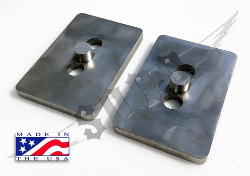 SKY Manufacturing Ford Axle Relocation Plates, FORD-ARP-001