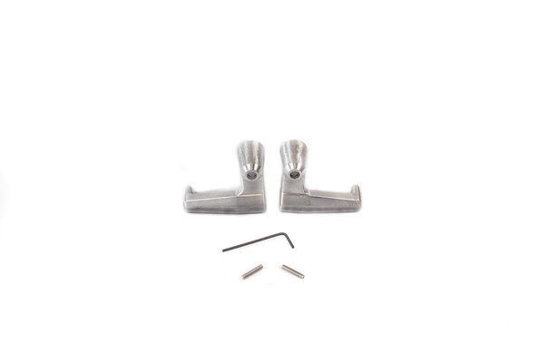BILLET Wing Vent Window Handles - (PAIR - Left & Right) (Billet Wing Lever)