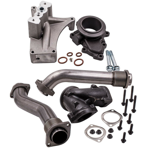 Up Pipe and Exhaust Housing Kit - Fits 99.5-03 7.3L