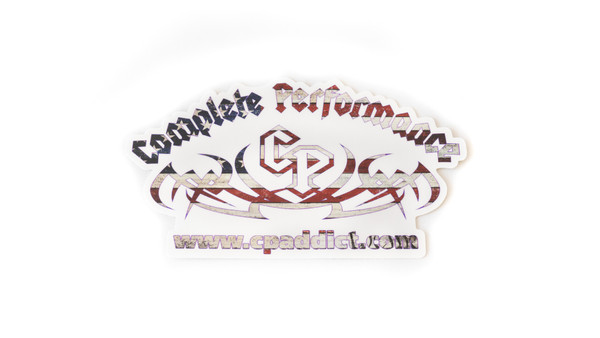 Complete Performance Decal(Die Cut) American Flag (CP-FLAG-DECAL)