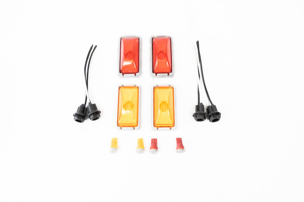 CP Factory Style OBS Dually Fender Light - Kit - DIRECT REPLACEMENT - 1980-1997 F-Series (OBSDFL-KIT-Factory)