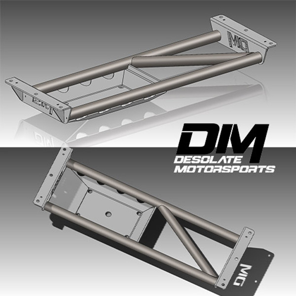 Desolate Motorsports Transfer-Case Crossmember and Skid