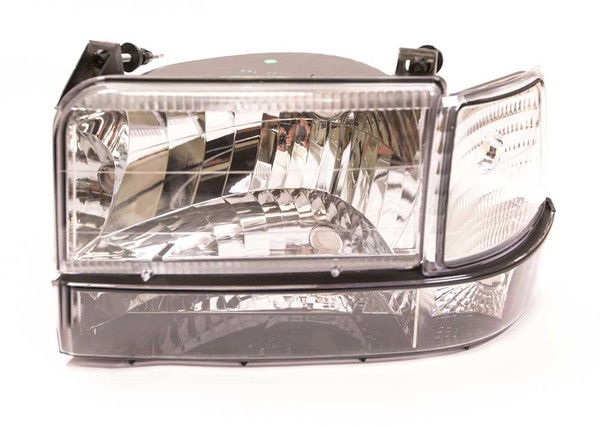 OBS Ford Clear Six Piece Headlight Kit, 92-97 Ford (CP-CLH)
