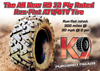 New Tire 26 11.00 12 K9 Heeler Run Flat 12 Ply ATV  26x11-12