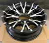 """New 16"""" Aluminum Trailer Wheel 16x6 8x6.5 8 Bolt Sendel T07 8 Spoke"""