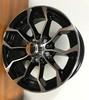15 Rim 15x6 5-4.5 Trailer Aluminum Black Machined Sutong PSZ1024 Wheel 5 Bolt