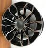 15 Rim 15x6 6-5.5 Trailer Aluminum Black Machined Sutong PSZ1025 Wheel 6 Bolt