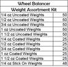 New Wheel Balancer Weight Assortment Kit Free Shipping