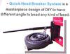 "New Precision Automotive Equipment Manual Tire Changer Machine No Motor 6-25"" 201 MT"