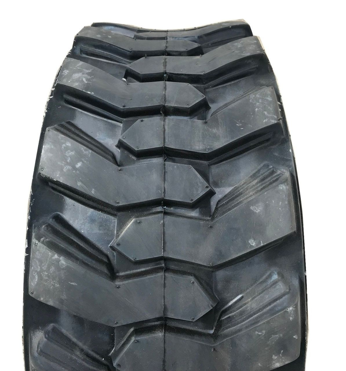New Tire 12 16.5 Loadmaxx 12 Ply TL Skid Steer Loader 12x16.5 Rim Guard G1