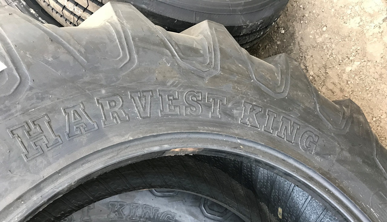 New Tire 11.2 24 Harvest King Assembly 6 ply 11.2x24 Tire Tube Mounted on Galvanized Rim  USAF