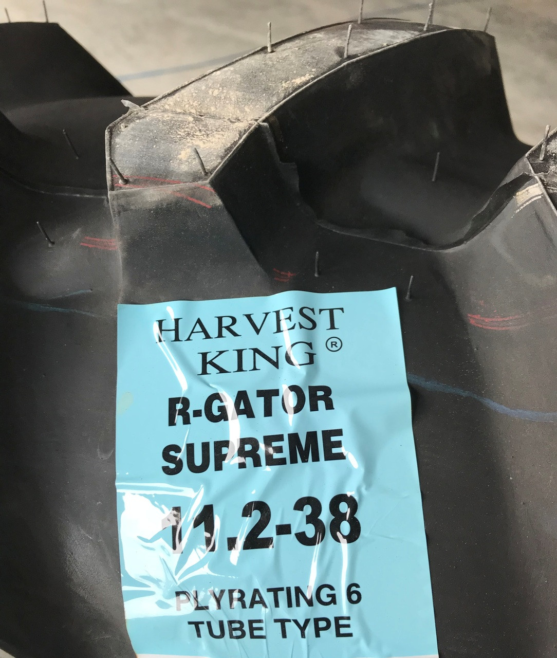 38 Harvest King R-Gator II Industrial Tire 11.2//