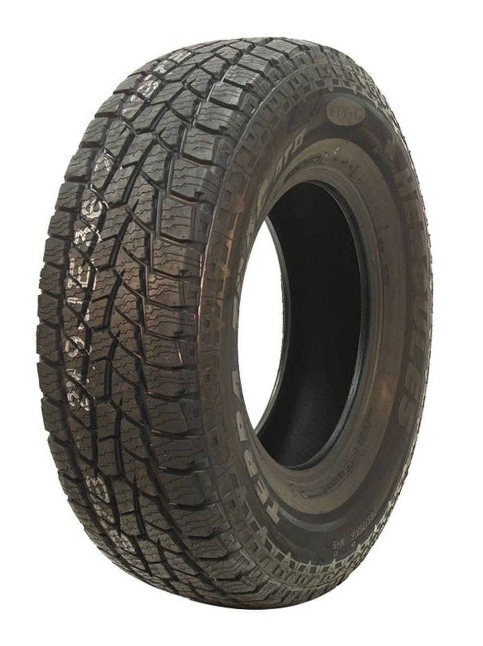 New Tire 265 70 17 Hercules Terra Trac AT II OWL 10 ply LT265/70R17 60,000 Miles
