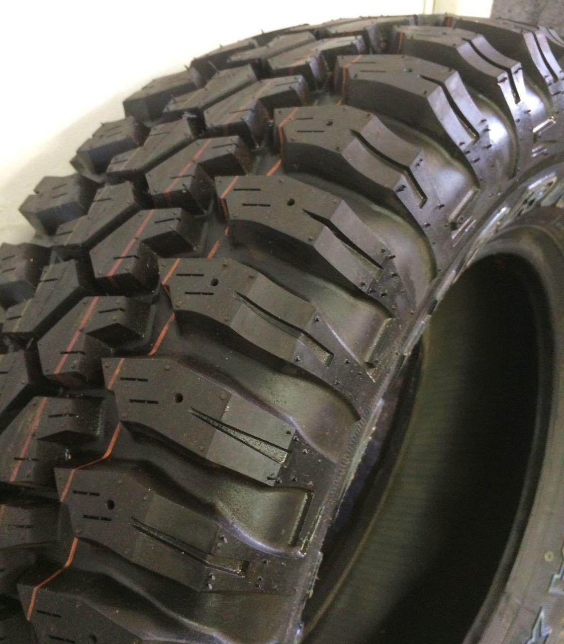 New Tire 265 75 16 Maxxis Bighorn MT-762 Mud 8 Ply OWL LT265/75R16