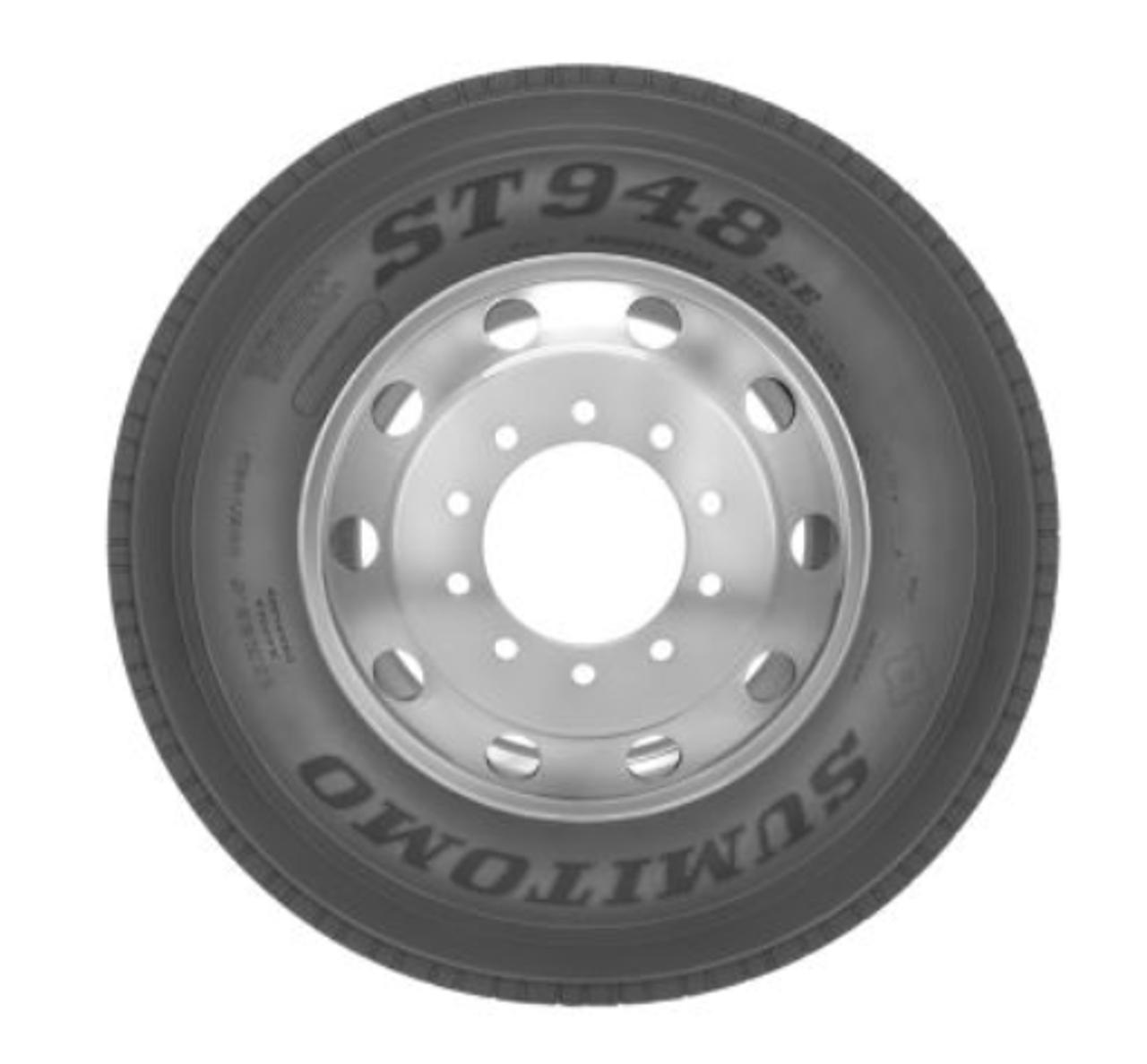 295 75 22.5 Sumitomo CSD 948SE 14ply New Semi Tire 295/75R22.5