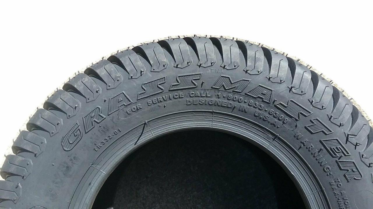 New Turf Tire 18 9.50 8 OTR GrassMaster 4 ply TR332 18x9.50-8 SIL