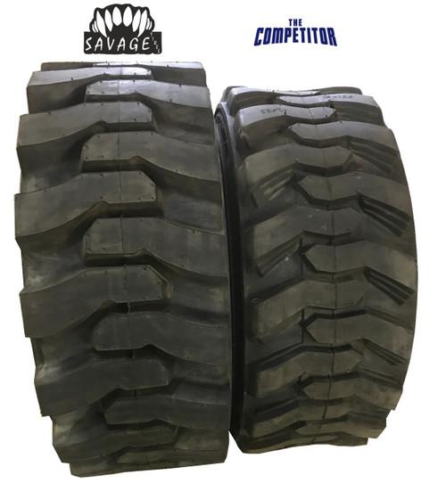 New Tire 12 16.5 Savage HD Premium Skid Steer 12 Ply DeepTread 12x16.5 PPT