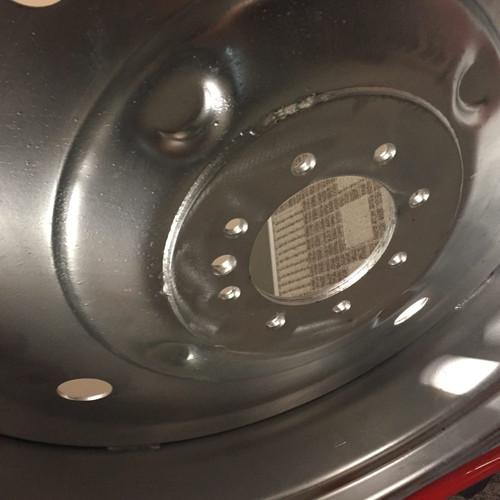 "New 38"" 38X10 8 Hole Galvanized Center Pivot Heavy Duty Rim Wheel  10x3811.2 38"
