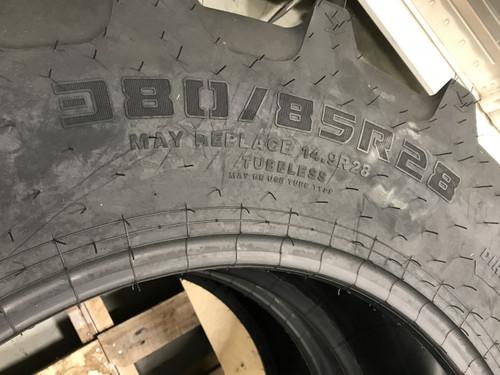New Radial Tire 380 85 28 Ceat Radial R1W FarMax R85 133A8 14.9R28