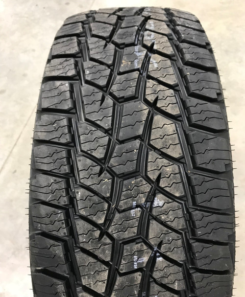 New Tire 245 75 17 Hercules Terra Trac AT II OWL 10 ply LT245/75R17 60,000 Miles