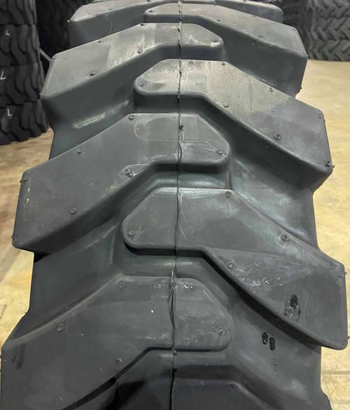 Free Shipping - 4 New K9 Solid Skid Steer R4 Aperature Tires 10x16.5 30x10-16 8 bolt Rim DOB