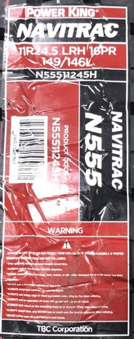 11 R 24.5 Navitrac N555 CSD 16ply New Tire 11R24.5