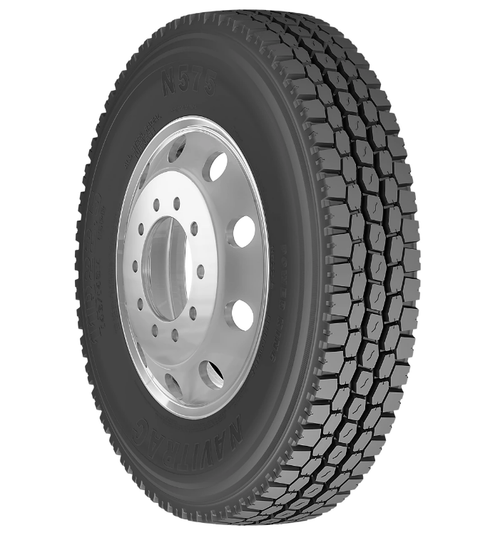 New Tire 295 75 22.5 Power King Navitrac Semi N575 OSD 14 Ply 295/75R22.5