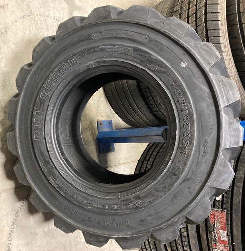 New Tire 14 17.5 Deestone R4 14ply Skid Steer 14x17.5
