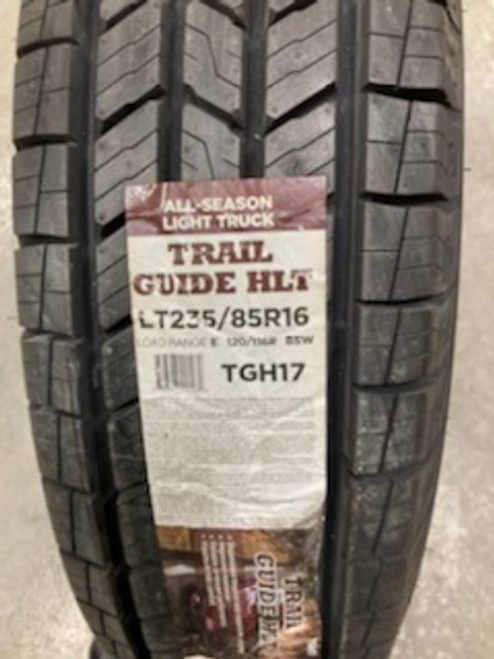New Tire 235 85 16 Trail Guide HLT Highway 10 ply LT235/85R16