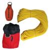 "Forester Professional Polyethylene Arborist Throw Line Kit - 1/8"" x 150' w/ 11oz Throw Bag & Storage Bag"