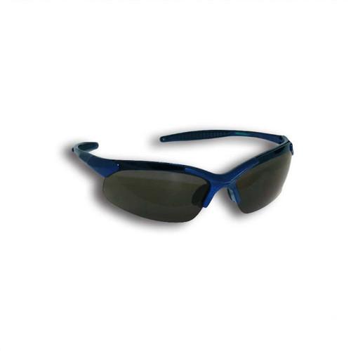 Forester Curved Frame Safety Glasses - Smoke Lenses