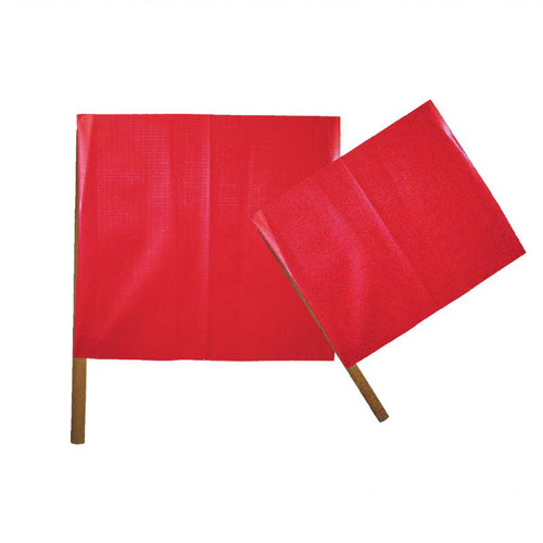 "Forester 18"" X 18"" Red Vinyl Flag"