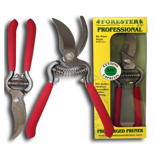 """Forester 8-1/4"""" By-Pass Pro-Forged Pruner #Pr7240"""