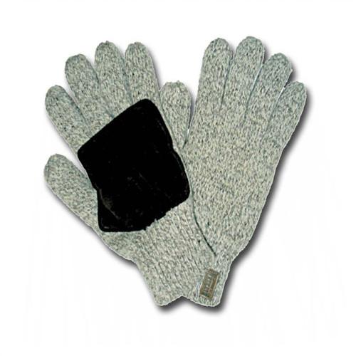 Alyeska Lined Heatkeep Rag Wool Gloves