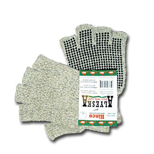 Alyeska Unlined Half Finger Gloves