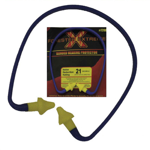 Forester Banded Hearing Protector Ear Plug - 7208