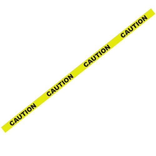 "1000' x 3"" Caution Yellow Barricade Tape"