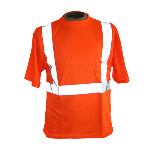 Forester Hi-Vis Class 2 Reflective Safety T-Shirt - Orange