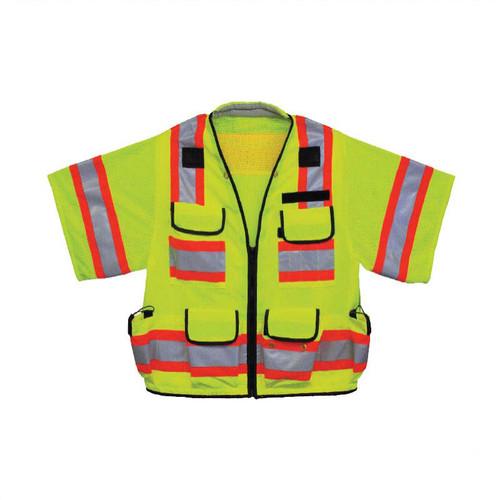 Forester Class 3 Heavy Duty Sleeved Surveyor Vest