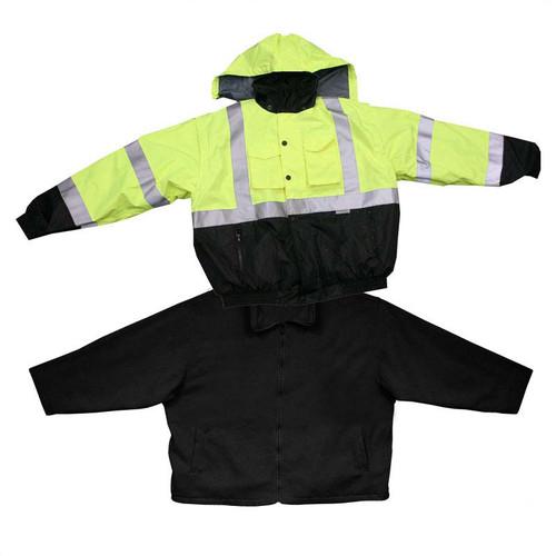 Forester Hi-Vis Extreme Jacket System - Removable Fleece