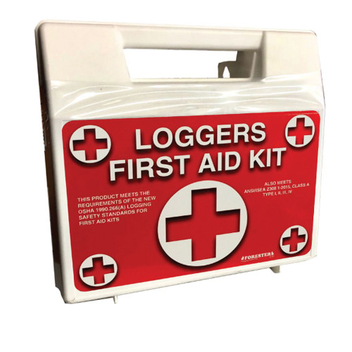 Forester First Aid Loggers Kit - Plastic Case