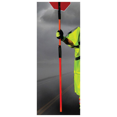 """Forester Adjustable Flaggers Pole - 46"""" to 84"""""""