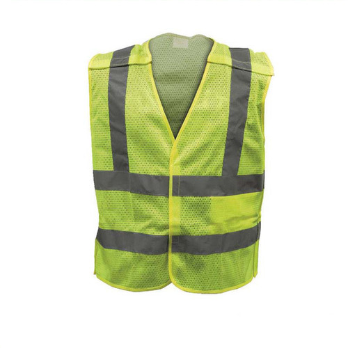 Forester Class 2 Tear-away Safety Vest Mesh Body - Safety Green